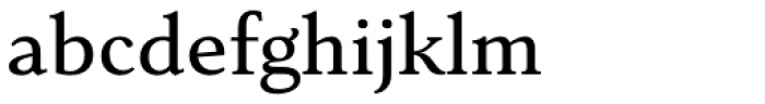 Senlot Serif Extended Medium Font LOWERCASE