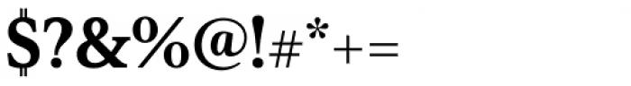 Senlot Serif Norm Black Font OTHER CHARS