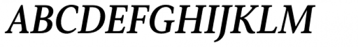 Senlot Serif Norm Bold Italic Font UPPERCASE