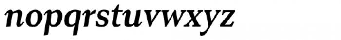 Senlot Serif Norm Bold Italic Font LOWERCASE