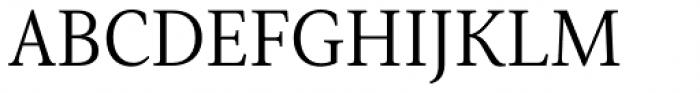 Senlot Serif Norm Book Font UPPERCASE