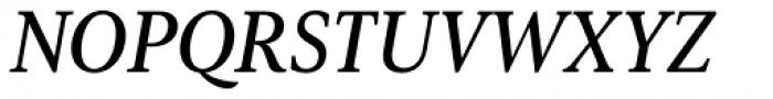 Senlot Serif Norm Demi Italic Font UPPERCASE