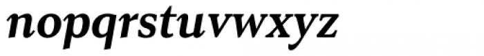 Senlot Serif Norm Ex Bold Italic Font LOWERCASE