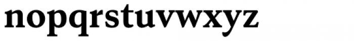 Senlot Serif Norm Ex Bold Font LOWERCASE