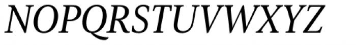 Senlot Serif Norm Medium Italic Font UPPERCASE