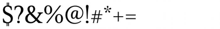 Senlot Serif Norm Medium Font OTHER CHARS