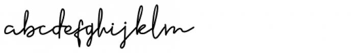 Sennita Regular Font LOWERCASE