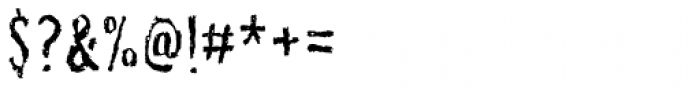 Senohraby Trash Font OTHER CHARS