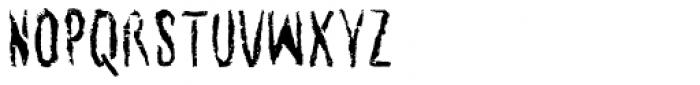 Senohraby Trash Font LOWERCASE