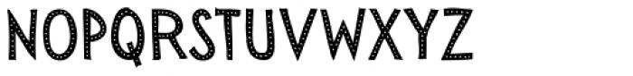 Sensa Wild Dot Fill Font UPPERCASE