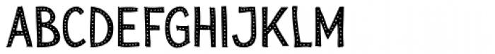 Sensa Wild Dot Fill Font LOWERCASE