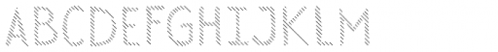 Sensa Wild Line Font UPPERCASE