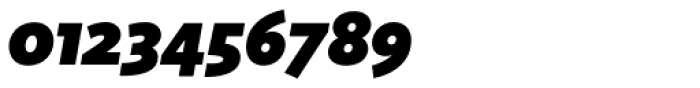 Sense Black Italic Font OTHER CHARS