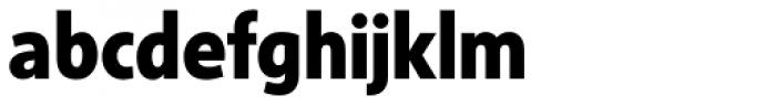Sense ExtraBold Font LOWERCASE