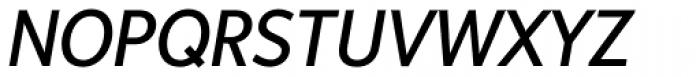 Sense Italic Font UPPERCASE