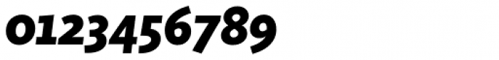 Sensibility ExtraBold Italic Font OTHER CHARS