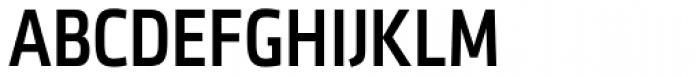 Sentico Sans DT Cond Medium Font UPPERCASE