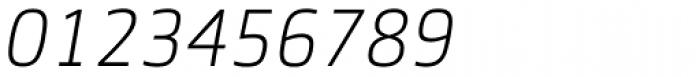 Sentico Sans DT Light Italic Font OTHER CHARS