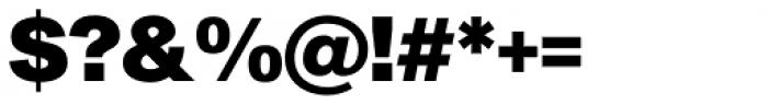 Sequel Sans Black Display Font OTHER CHARS