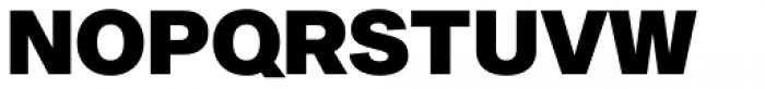Sequel Sans Black Headline Font UPPERCASE