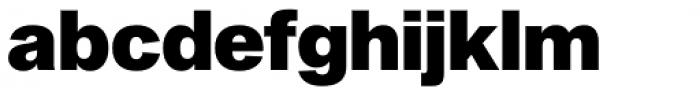 Sequel Sans Black Headline Font LOWERCASE