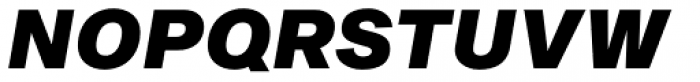 Sequel Sans Black Oblique Body Text Font UPPERCASE