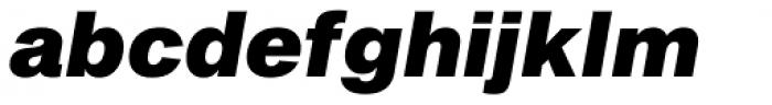 Sequel Sans Black Oblique Body Text Font LOWERCASE