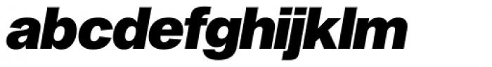 Sequel Sans Black Oblique Display Font LOWERCASE