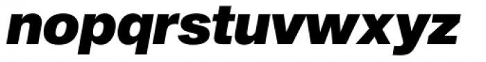 Sequel Sans Black Oblique Headline Font LOWERCASE