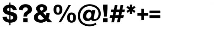 Sequel Sans Bold Headline Font OTHER CHARS