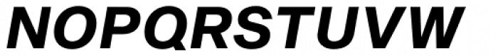 Sequel Sans Bold Oblique Body Text Font UPPERCASE