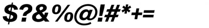 Sequel Sans Bold Oblique Display Font OTHER CHARS