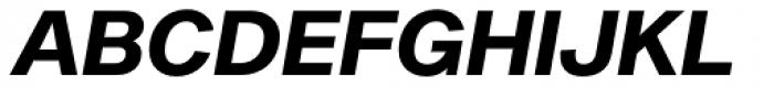 Sequel Sans Bold Oblique Headline Font UPPERCASE