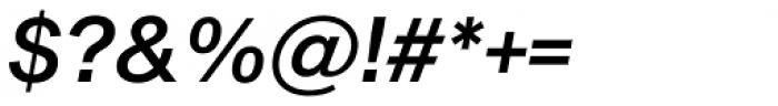 Sequel Sans Medium Oblique Headline Font OTHER CHARS