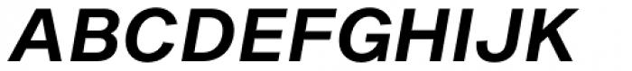 Sequel Sans SemiBold Oblique Body Text Font UPPERCASE