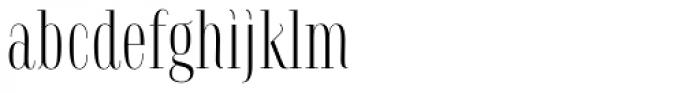 Serafine FY Font LOWERCASE