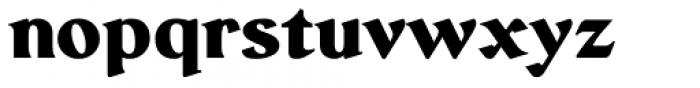 Serat Extra Bold Font LOWERCASE