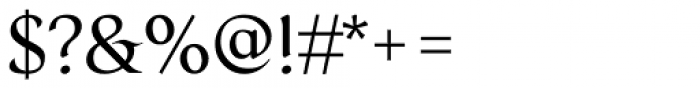 Serat Regular Font OTHER CHARS