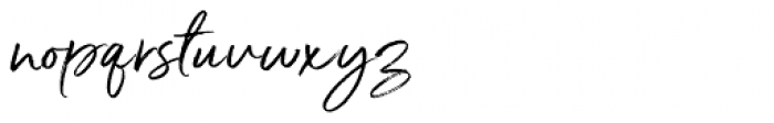 Serendipity Wide Font LOWERCASE