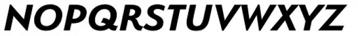 Serenity Bold Italic Font UPPERCASE
