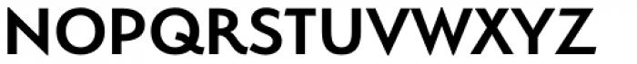 Serenity DemiBold Font UPPERCASE