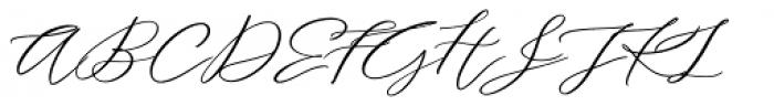 Serenity Font Duo Bold Script Font UPPERCASE