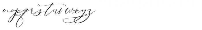 Serenity Font Duo Script Font LOWERCASE