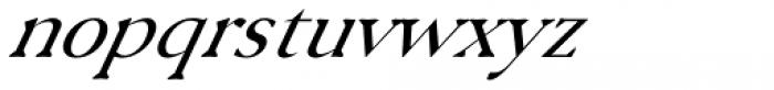 Serenity Font Duo Serif Italic Font LOWERCASE