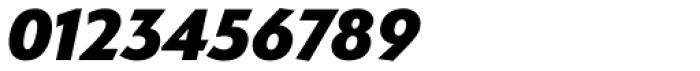 Serenity Heavy Italic Font OTHER CHARS