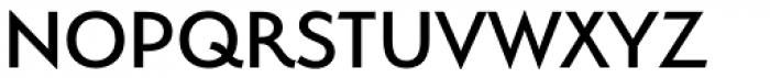 Serenity Medium Font UPPERCASE