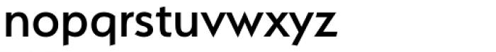 Serenity Medium Font LOWERCASE
