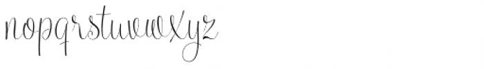 Serenus Condensed Regular Font LOWERCASE