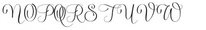 Serenus Font UPPERCASE