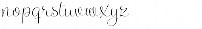 Serenus Font LOWERCASE